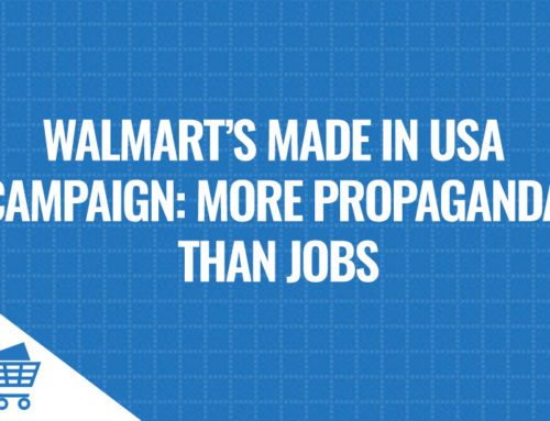 Walmart's Made in USA Campaign more PR than Jobs